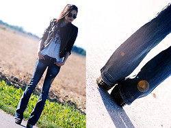 Ami Lu - Top, Jeans, Wedges - Limited edition