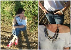Irina Welker - Lucky Shop Necklace, Luckyshop Bracelet - Punk? Grunge!