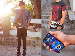 David Guison - Sinstar Shirt, Sinstar Beanie - Lost Galaxy
