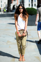 Julia Lundin - Theory Top, Boden Bag, River Island Trousers - It's about time