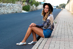 Bianca D - Asos Loafers, Zara Hat - Open Road