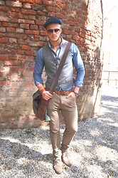 Reider Robert - Gant Shirt, Calvin Klein Pants, Zara Jacket, Fossil Watch - Beautiful morning in Hermanstadt