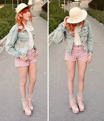 Anna Salo - Diesel Jacket, American Apparel Shorts, American Apparel Socks, Jeffrey Campbell Shoes - Just go with a Flow