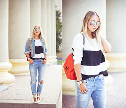 Olga Choi - Woakao Bag, Oasap Bracelet, Zerouv Glasses, Udobuy Heels - Welcome to Nsk