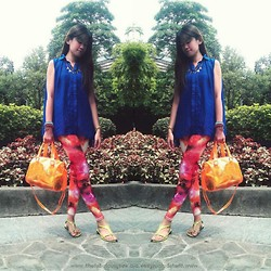 R.A. Basilan - Vintage Manila Ph Top, Sm Parisian Bags Bag, Ai Fashion Necklaces - Independent Women