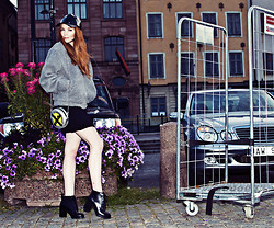 Filippa Smeds - Cheap Monday Jacket, Cheap Monday Shoes, Cheap Monday Cap, Cheap Monday Bag - PRE FALL