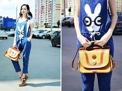 Kary Read♥ - Chicnova Jumpsuit, Noname Bag - Back to school!