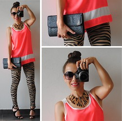 Wendy MARTÍNEZ - Fashionline.Com.Mx Neon Blouse - Taking CHANCES <3