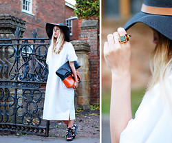 Daniella Robins - Reiss Hat - Ghostly