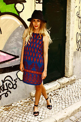 Lindsey Denham - Vintage Hat, Urban Outfitters Dress, Asos Sandels - Alley Ways.