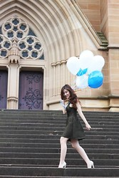Silvia Siantar - Topshop Dress - St. Mary's Cathedral