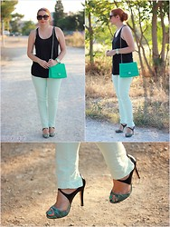 Call me M - Zara Jeans, Magrit Shoes - Mint condition