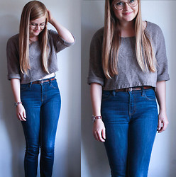 Emma Lindmark - Lindex Sweater, Monki Jeans, Belt, Urban Outfitters Watch - What's next?