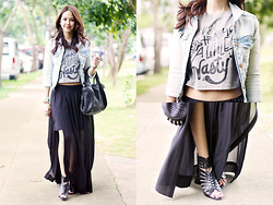 Patricia Prieto - Botb Cropped Top, Alexander Wang Bag, Zara Skirt - Never Trashy, Just A Little Nasty