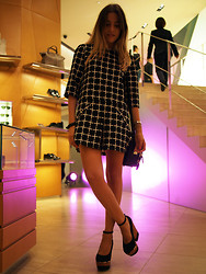 Lucrezia Mancini - Randa Shoes, Randa Dress, Miu Bag - Vogue fashion night out tokyo