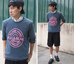 Zack T - Pull & Bear Sweatshirt, Underground Creepers - How to Love