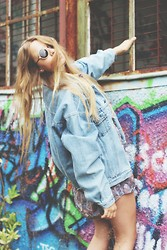 Lea . . . - Levi's® Jeans Jacket - Denim vs. Vintage