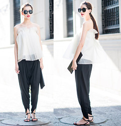 Ladykelly Wang - Mixmoss Top, Mixmoss Pants - Still Summer