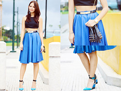 Patricia Prieto - Apartment 8 Skirt, Aldo Heels - When You're Ready Come and Get It
