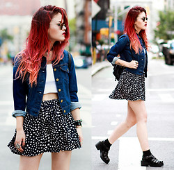 Lua P - Jacket, Sheinside Skirt - Make Our Mark II