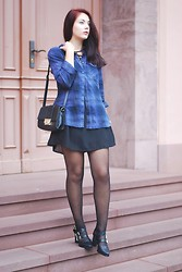 Marie Schöniger - Chic Wish Dress, Martofchina Shoes - Plaid Shirt