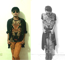 Jhan Jae Buted - Ray Ban Rayban, Levi's® Levis - I got the eye of the Tiger!