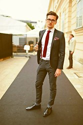Chris H - Massimo Dutti Tie, Topman Suspenders, Drykorn Pants - It All Feels Right