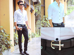 David Guison - Gbx Shoes, Sm Accessories Belt - Out of Office