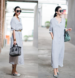 Ladykelly Wang - Mixmoss Dress - Lazy wear