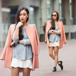 Levi Nguyen - Luv Aj Necklace, S E N O Boots - PINK INVASION