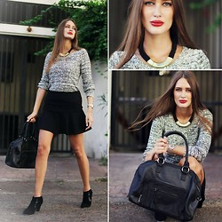 Amina Allam - Camaieu Outfit & Accessories - Early days of fall