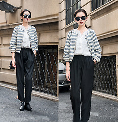 Ladykelly Wang - Mixmoss Coat, Mixmoss Shirt, Mixmoss Pants - Fall Fashion