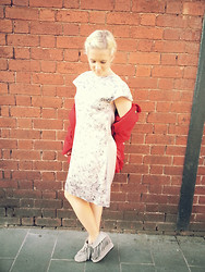 Sara-May Selten - Sara Phillips Dress, Forever New Jacket, Natasha Shoes - Flawless