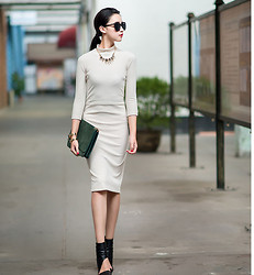 Ladykelly Wang - Mixmoss Dress - Vintage ?