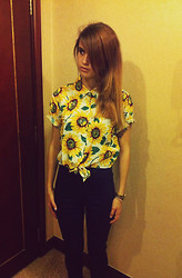 Loren♠ ♡ - American Apparel Shirt, American Apparel Pants - Summer is not over