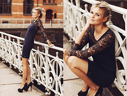 La Leonella - Rich & Royal Dress, Zalando High Heels - I'm still thinking of you - Unforgotton!