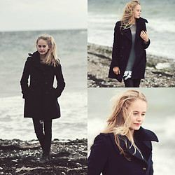 Louisa Philine W - Zara Coat, H&M Pants, Closed Pullover, Odd Molly Dress - On Melancholy Hill