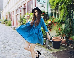 Elle F - Asos Smock Dress, Topshop Fedora - Do you Smock?