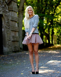 Fanny Staaf - Zara Knitted, Romwe Tutu, Sarenza Pumps - ENCHANTED