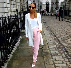 Carla Webster -  - Dusky pink trousers