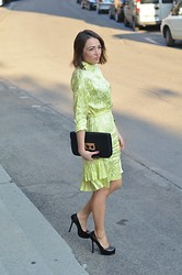 Melissa Cabrini - Roberto Cavalli Dress, Yves Saint Laurent Heels, Marc By Jacobs Bag - Life's Too Short To Wear Boring Clothes