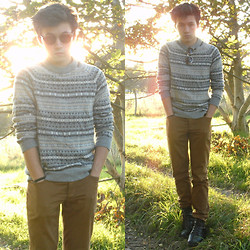 David P - H&M Sweater - AUTUMN