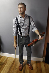 Dorian Sanders - Stradivarius Violin, Aldo Shoes, Diesel Watch - The Fiddlist