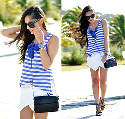 Alba . - Ecugo Skort, Mustang Bag, Zerouv Sunglasses - ...Sailor...