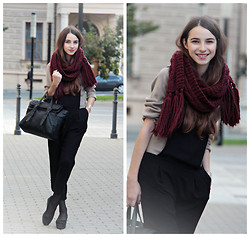 Daniela Hálová - Zara Bag, H&M Bracelet, Zara Sweater, Vagabond Shoes - Autumn colors