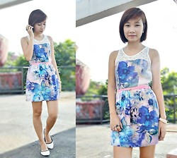 Anne Villegas - Just G. Philippines Floral Dress - 23 Years of Existence