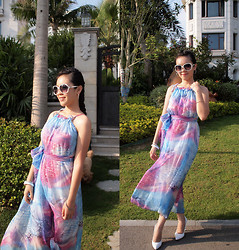 Maggy Hsu - Mom's Watercolor Dress - September is Amazing!