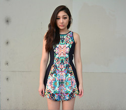 Kiki Nicole Suen - Keepsake The Label Game Changer Playsuit - Game Changer