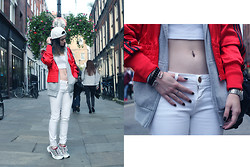 Laura Borges Ribeiro - Adidas Jacket, Boy London Cap - Back in town