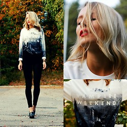 Petra Karlsson - Sweater, Vero Moda Jeans - Vampire Weekend